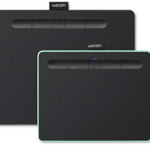a picture of a digital tablet wacom